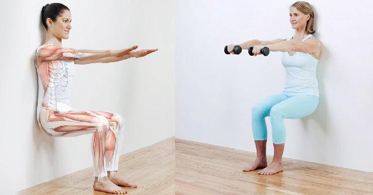 Плоский живот+стройные ноги всего за 5 минут в день! И колени больше не болят!