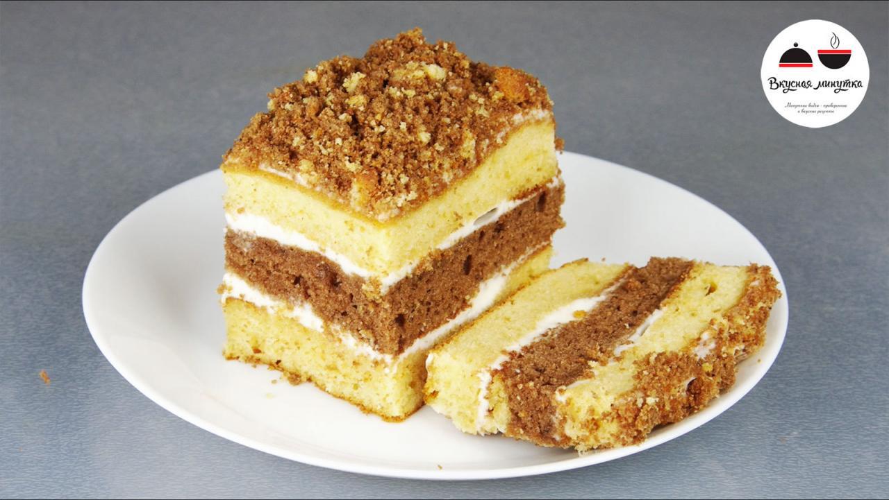 Рецепт вкуснейшего торта со сгущенкой за 30 минут.