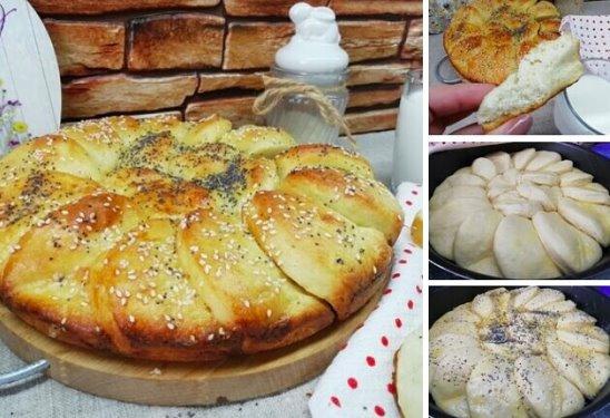 Красавцы Куличи -Краффины: с изюмом, закрученные в красивую розочку с сахарной шапочкой сверху!