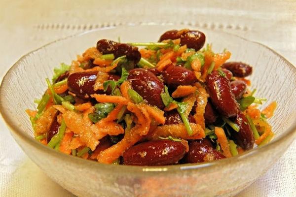 9 лучших салатов с фасолью: сытно, вкусно и питательно