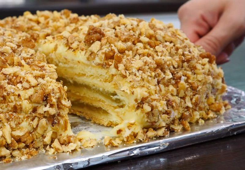 Баварский яблочный торт. Лучший рецепт — проверенный домохозяйками!