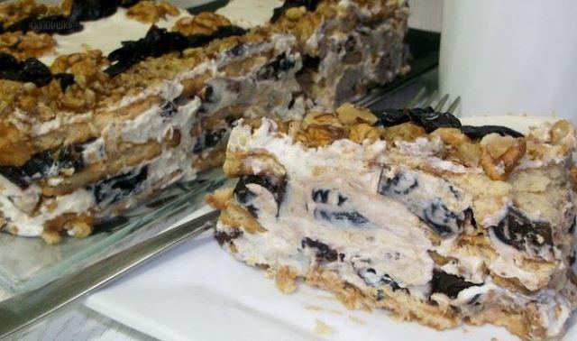 Быстрый и несложный торт, который не требует выпечки