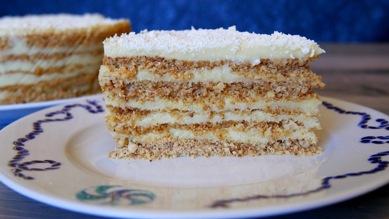 Рецепт обалденного и невероятно вкусного тортика «Волшебница». Вкус запомнится надолго!