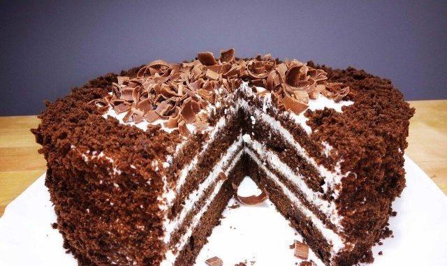 Торт — Чёрный принц как МАГАЗИННЫЙ - перекопала кучу рецептов