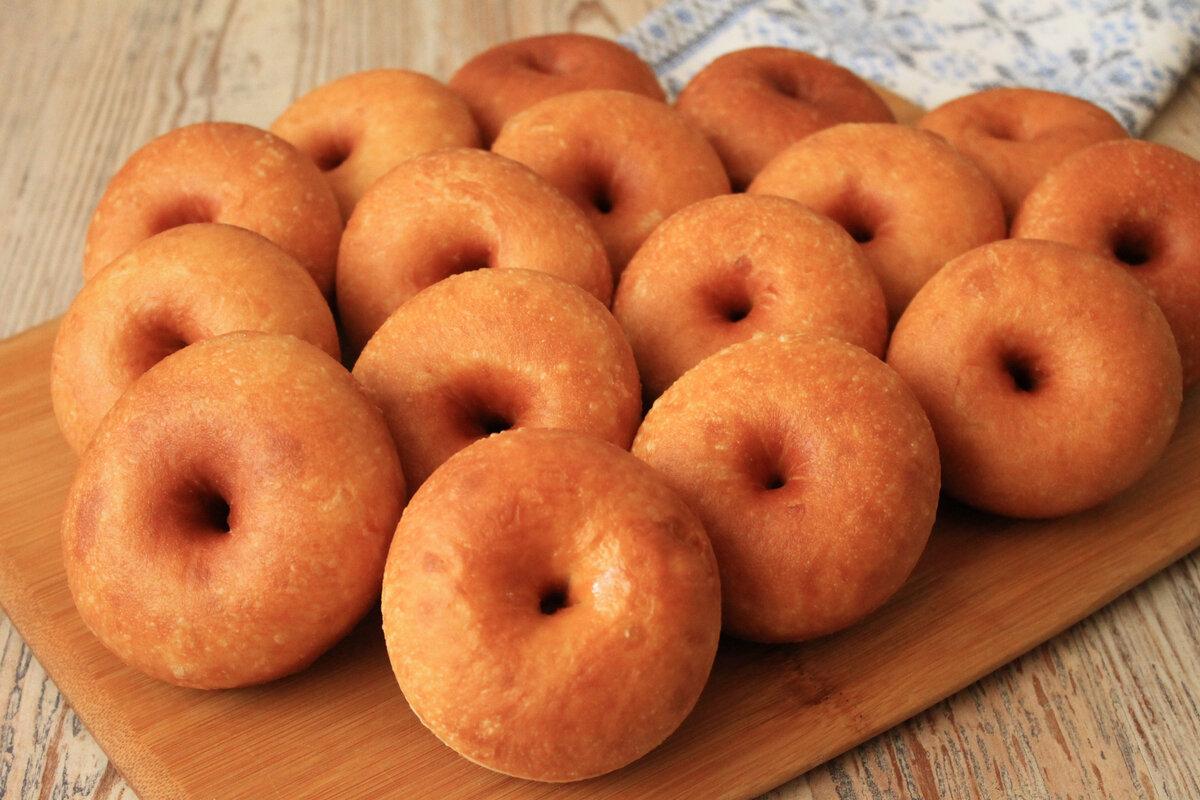 Как у меня получаются просто «идеальные» пончики: все как один.