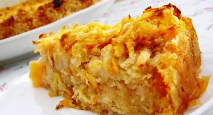 Ешь, хоть каждый день! Диетический пирог без пшеничной муки с яблоками