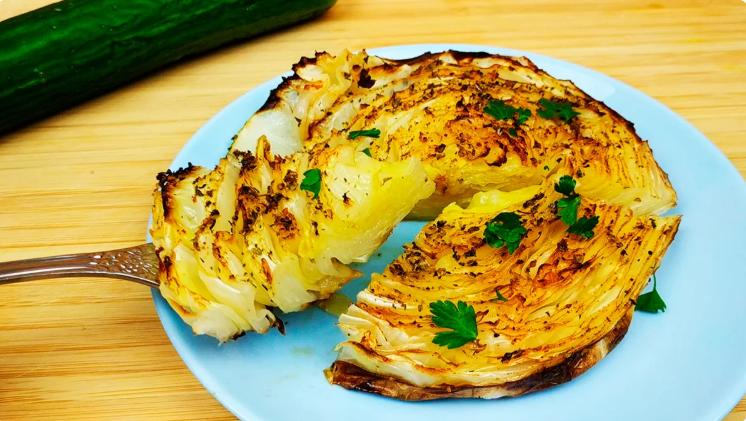 Шницели из капусты - простое, быстрое, вкусное блюдо разнообразит ваше меню
