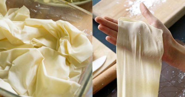 Тесто фило – готовьте быстро и вкусно!