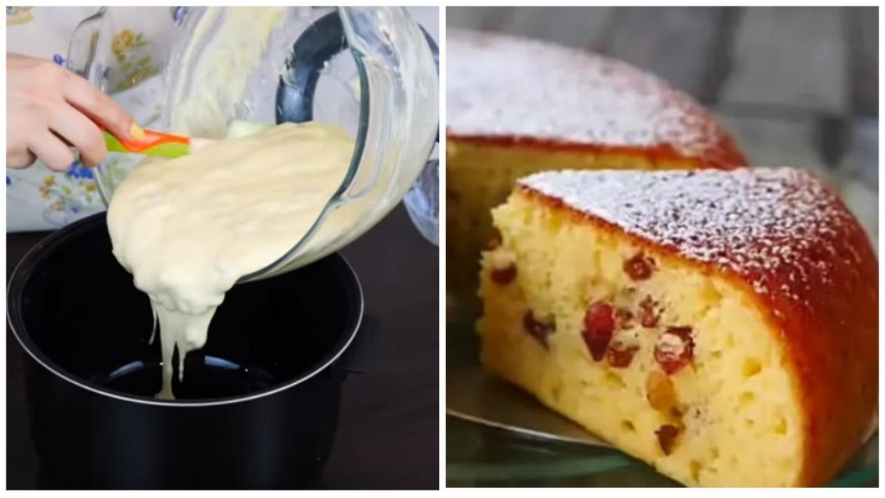 Как быстро приготовить нежный сметанный пирог