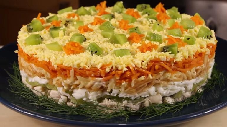 Потрясающе яркий салат «Леди»: для настоящих дам.