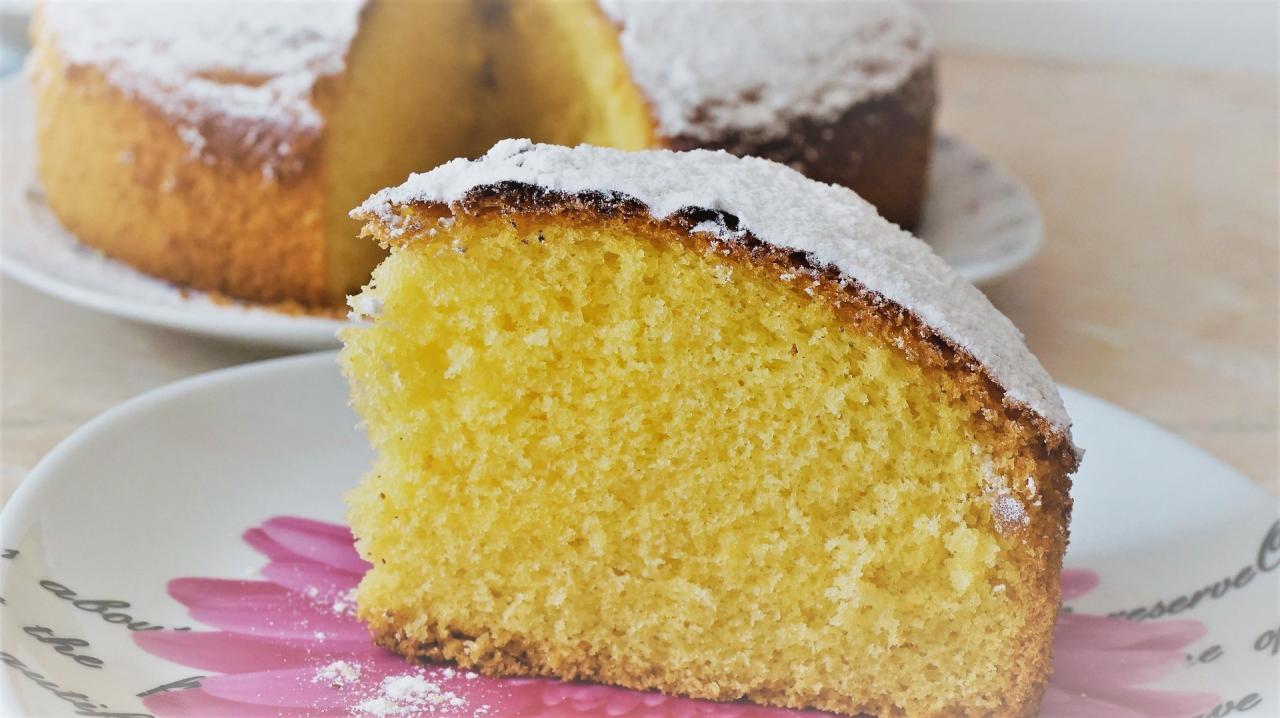 Рецепт приготовления итальянского бисквита «Маргарита»